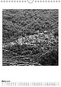 Valle Cannobina - Einsame Dörfer im Piemont (Wandkalender 2019 DIN A4 hoch) - Produktdetailbild 3