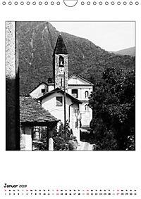 Valle Cannobina - Einsame Dörfer im Piemont (Wandkalender 2019 DIN A4 hoch) - Produktdetailbild 1