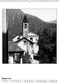 Valle Cannobina - Einsame Dörfer im Piemont (Wandkalender 2019 DIN A3 hoch) - Produktdetailbild 1