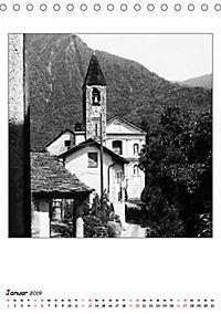 Valle Cannobina - Einsame Dörfer im Piemont (Tischkalender 2019 DIN A5 hoch) - Produktdetailbild 1