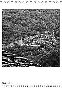 Valle Cannobina - Einsame Dörfer im Piemont (Tischkalender 2019 DIN A5 hoch) - Produktdetailbild 3