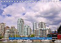 Vancouver - Träumen zwischen Wolken und Meer (Tischkalender 2019 DIN A5 quer) - Produktdetailbild 1