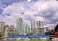 Vancouver - Träumen zwischen Wolken und Meer (Wandkalender 2019 DIN A4 quer) - Produktdetailbild 1