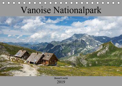 Vanoise Nationalpark (Tischkalender 2019 DIN A5 quer), Bernd Leicht
