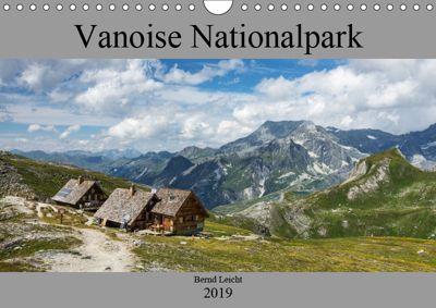 Vanoise Nationalpark (Wandkalender 2019 DIN A4 quer), Bernd Leicht