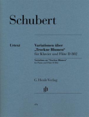 Variationen über 'Trockne Blumen' e-Moll op. post. 160 D 802, Flöte und Klavier, Franz Schubert