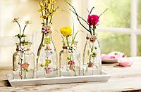 Vasen-Set auf Tablett, 5-teilig - Produktdetailbild 2