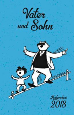 Vater und Sohn Kalender 2018, E. O. Plauen