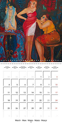 Vaudeville Nights (Wall Calendar 2019 300 × 300 mm Square) - Produktdetailbild 3