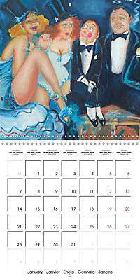 Vaudeville Nights (Wall Calendar 2019 300 × 300 mm Square) - Produktdetailbild 1