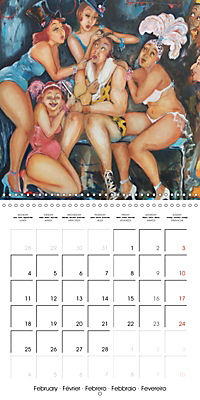 Vaudeville Nights (Wall Calendar 2019 300 × 300 mm Square) - Produktdetailbild 2