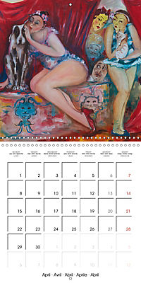 Vaudeville Nights (Wall Calendar 2019 300 × 300 mm Square) - Produktdetailbild 4