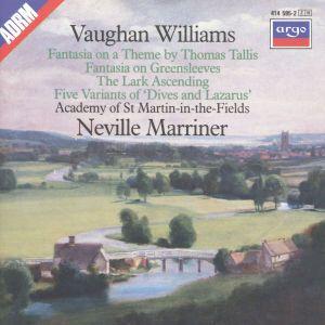Vaughan Williams: Tallis Fantasia, Fantasia on Greensleeves, The Lark Ascending etc., Neville Marriner, Amf