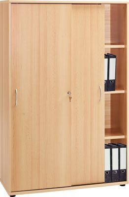vcm aktenschrank aktano 480 regal f r ordner akten farbe buche. Black Bedroom Furniture Sets. Home Design Ideas