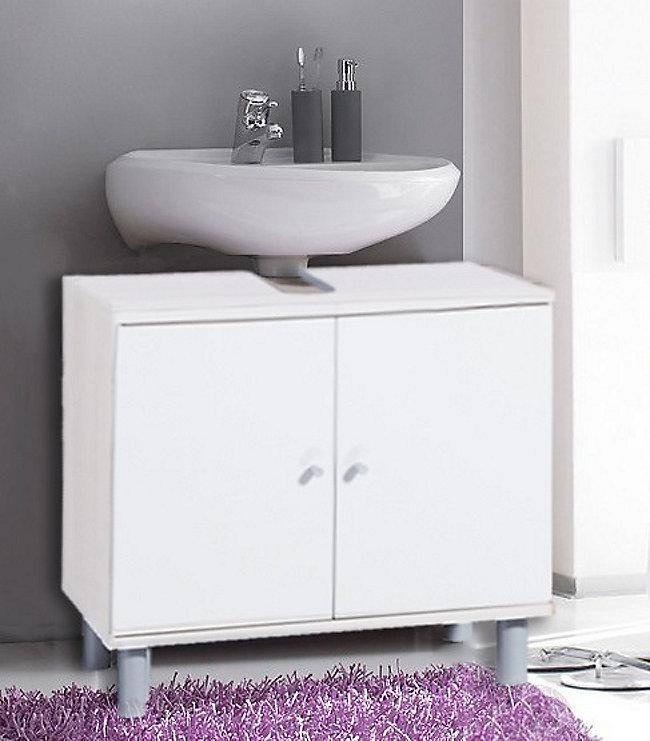 VCM Bad Unterschrank Waschtisch Waschbecken Badschrank Regal Möbel ...