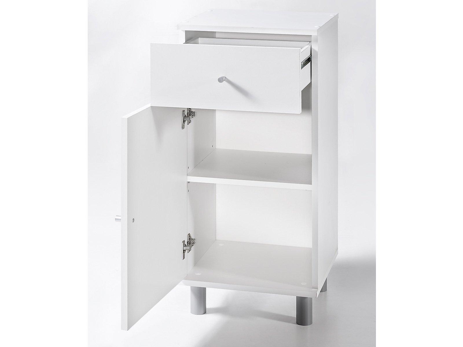 Regal Für Badezimmer Weiß