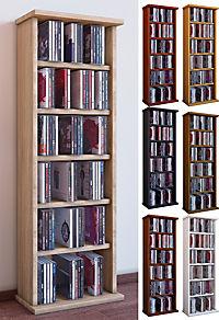 vcm cd dvd m bel vostan schrank regal ohne glast r in 7 farben farbe sonoma eiche s gerau. Black Bedroom Furniture Sets. Home Design Ideas