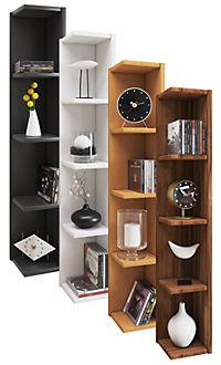 vcm eckregal wandregal standregal b cherregal cd dvd regal holz board honsa farbe weiss. Black Bedroom Furniture Sets. Home Design Ideas