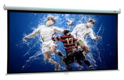 VCM Heimkino Beamer Projektor Leinwand Beamerleinwand HDTV 16:9 4:3 Rolloleinwand (Farbe: 221 x 125 cm: 254 cm / 100 Zoll)