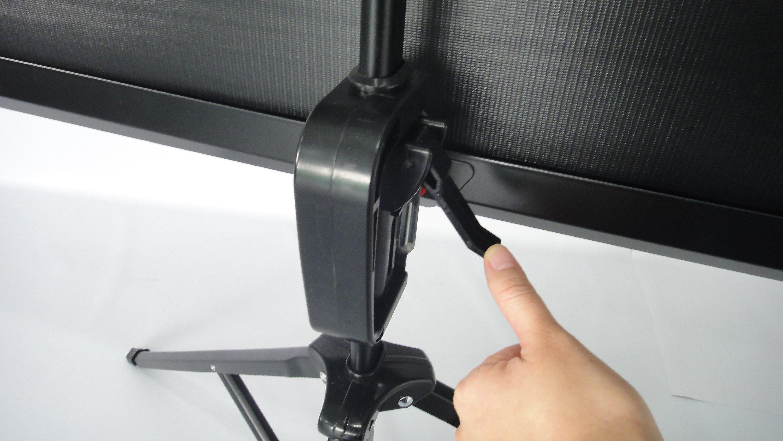 Vcm Mobile Hdtv Stativ Beamer Projektor Leinwand Ständer 43