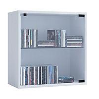 "VCM Regal Würfel Quadratisch Wandregal Bücher Schrank CDs Holz Aufbewahrung ""Quattro"" (Farbe: Premium: Weiß) - Produktdetailbild 1"