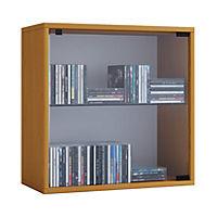 "VCM Regal Würfel Quadratisch Wandregal Bücher Schrank CDs Holz Aufbewahrung ""Quattro"" VCM Regal-Serie Quatto (Farbe: Premium: Buche) - Produktdetailbild 1"