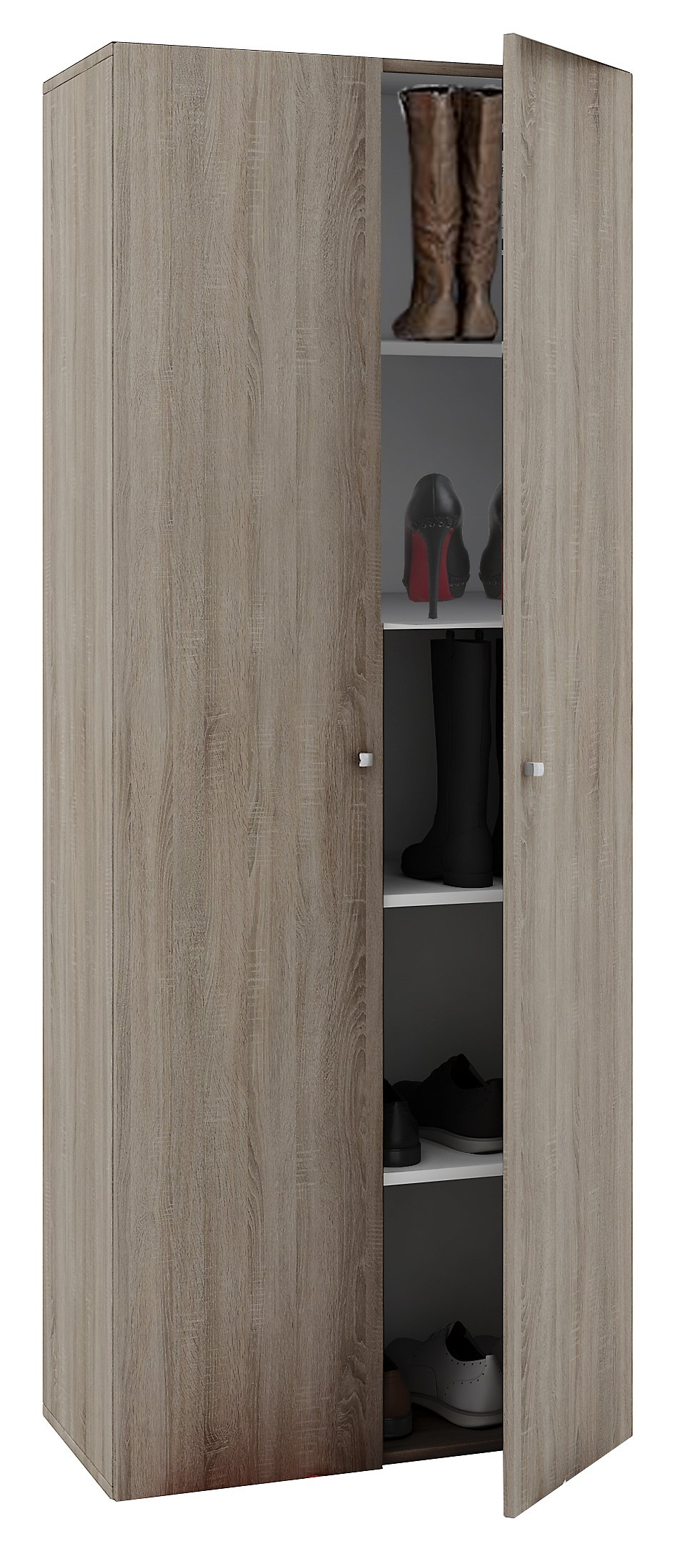 Astounding Schuhschrank Mit Türen Referenz Von Vcm Schuhregal Schuhkommode
