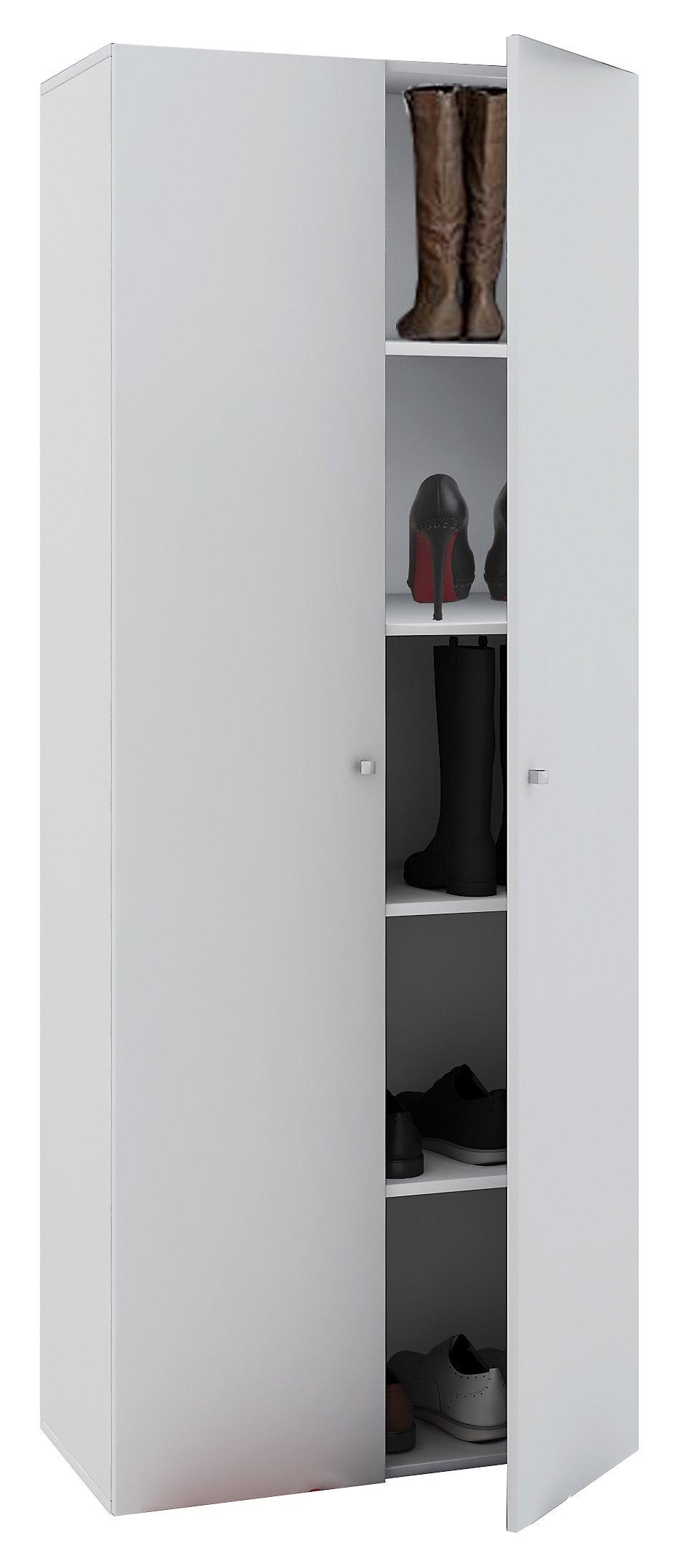 Künstlerisch Schuhschrank Mit Türen Galerie Von Vcm Schuhregal Schuhkommode