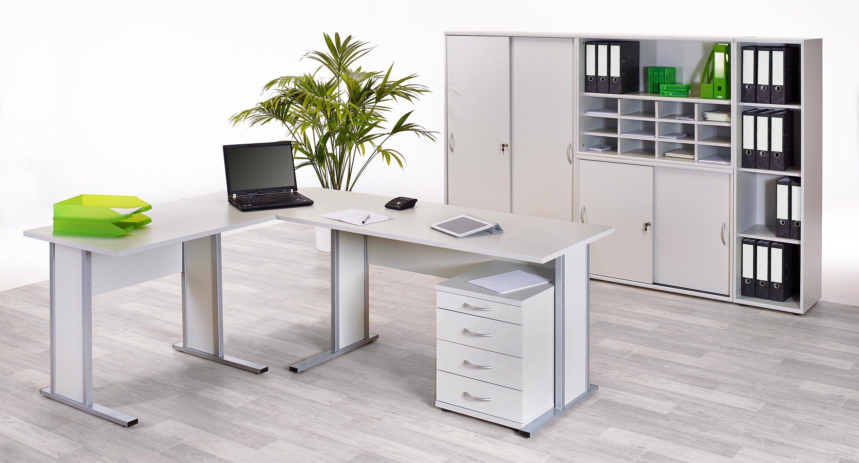 Vcm Sideboard Ordner Schrank Akten Büro Möbel Regal Mit Schiebetüren