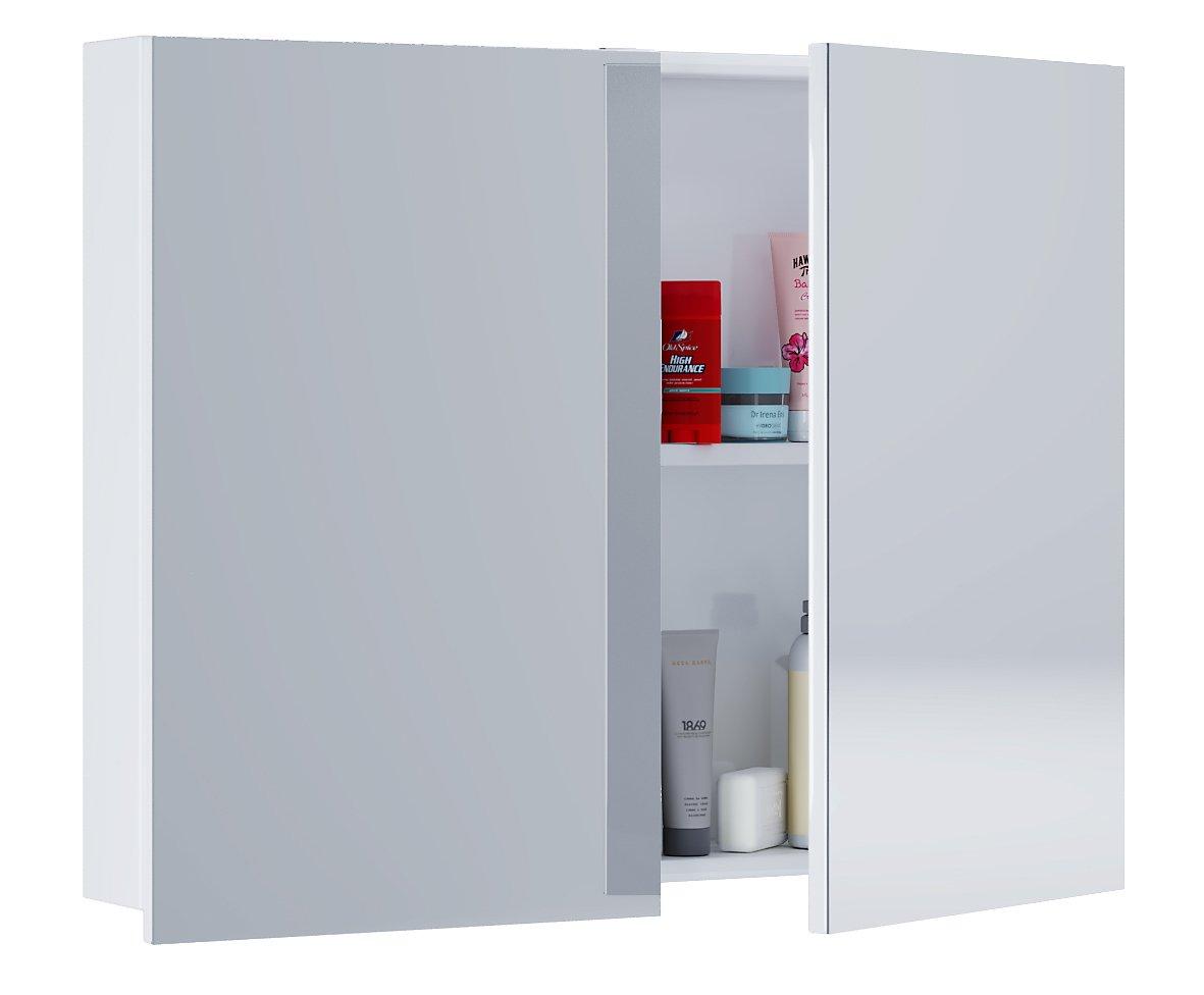 VCM Spiegelschrank Badmöbel Badezimmer Badezimmerschrank ...