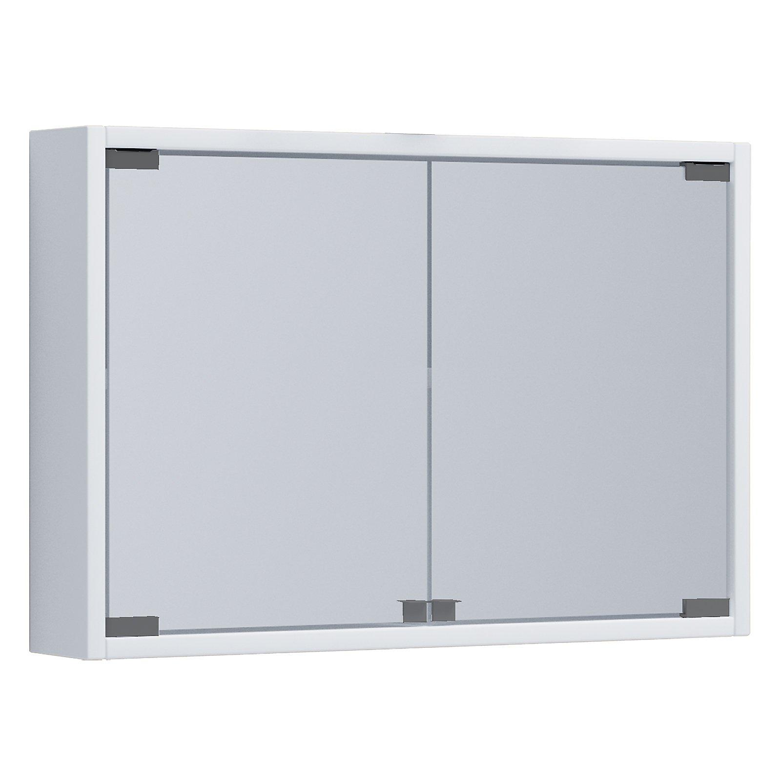 Badezimmer Hängeschrank Mit Spiegel | Vcm Spiegelschrank Badmobel Badezimmer Badezimmerschrank