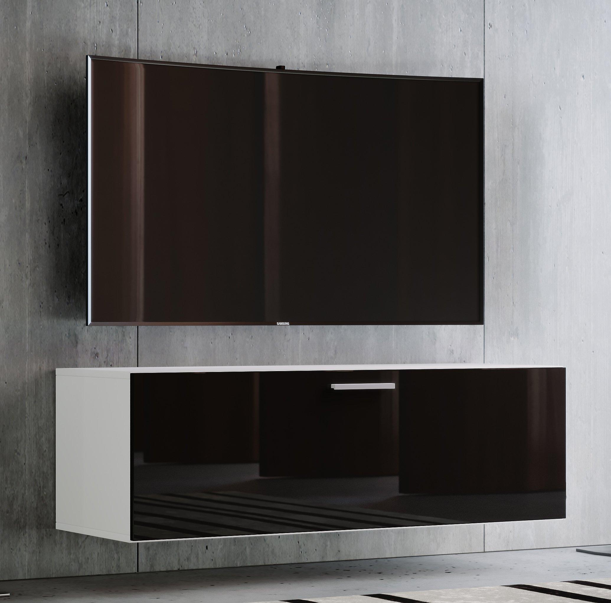 Vcm Tv Wand Board Fernsehtisch Lowboard Wohnwand Regal