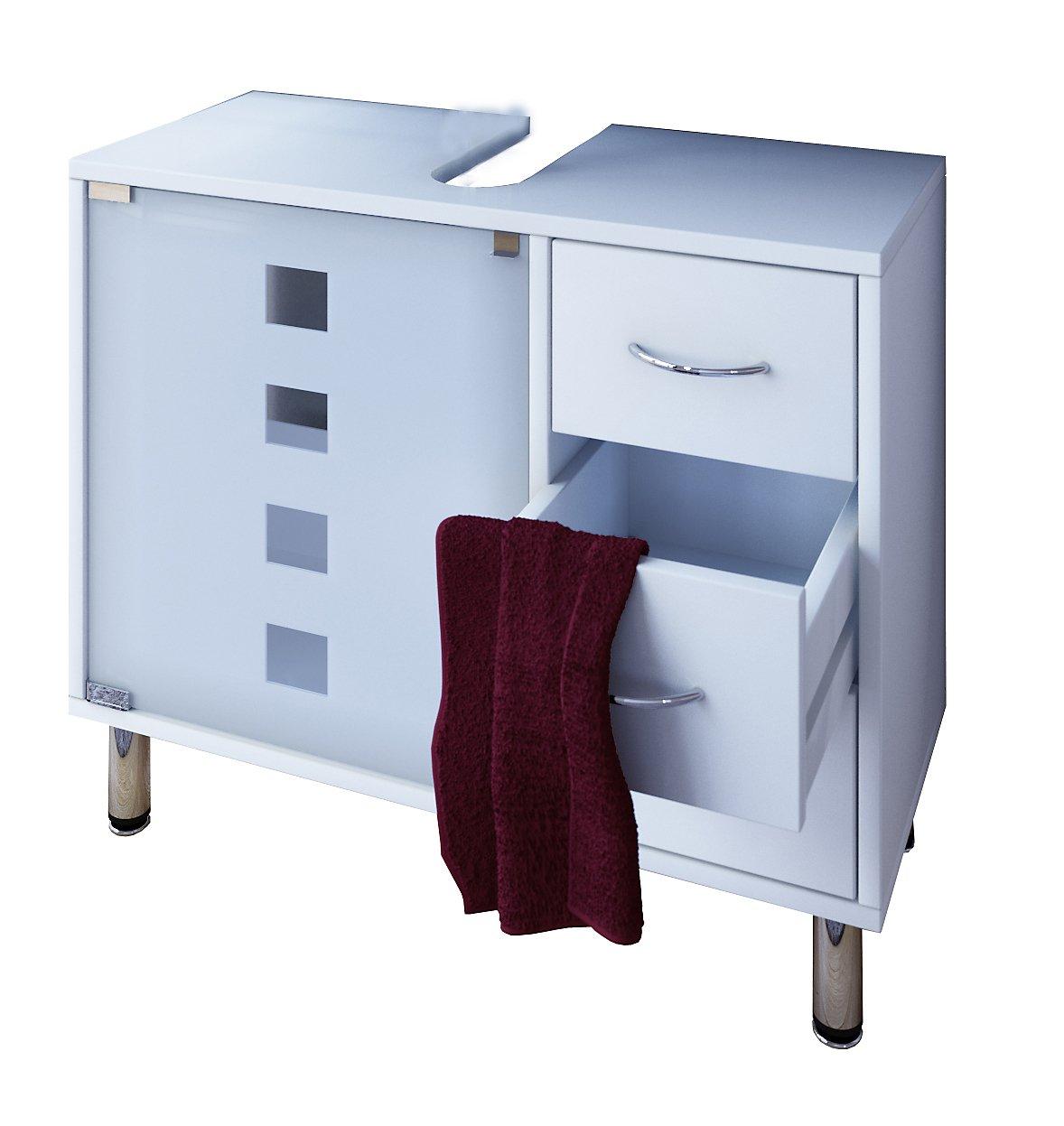 vcm waschtischunterschrank bad möbel unterschrank schubladen