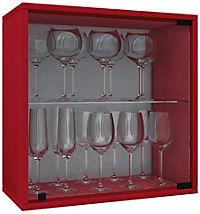 "VCM Wein-Regalserie Regal Weinregal Weinschrank Weinflaschen Schrank Holz Würfel Flaschen Aufbewahrung ""Weino"" (Farbe: Weino V: Rot) - Produktdetailbild 2"