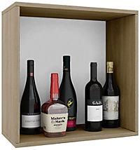 """VCM Wein-Regalserie Regal Weinregal Weinschrank Weinflaschen Schrank Holz Würfel Flaschen Aufbewahrung """"Weino"""" (Farbe: Weino l: Sonoma-Eiche) - Produktdetailbild 2"""
