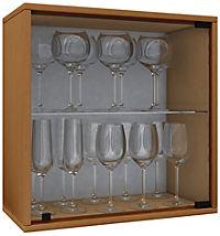 """VCM Wein-Regalserie Regal Weinregal Weinschrank Weinflaschen Schrank Holz Würfel Flaschen Aufbewahrung """"Weino"""" (Farbe: Weino V: Buche) - Produktdetailbild 2"""