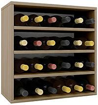 """VCM Wein-Regalserie Regal Weinregal Weinschrank Weinflaschen Schrank Holz Würfel Flaschen Aufbewahrung """"Weino"""" (Farbe: Weino lV: Sonoma-Eiche) - Produktdetailbild 2"""