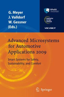 VDI-Buch: Advanced Microsystems for Automotive Applications 2009, Wolfgang Gessner, Jürgen Valldorf, Gereon Meyer