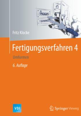 VDI-Buch: Fertigungsverfahren 4, Fritz Klocke