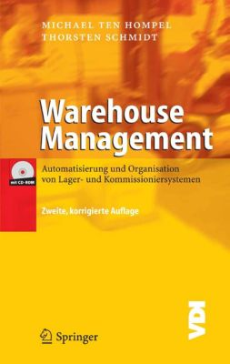 VDI-Buch: Warehouse Management, Thorsten Schmidt, Michael Hompel