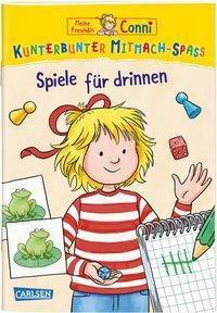 VE 5 Meine Freundin Conni: Kunterbunter Mitmach-Spaß - Connis Spiele für drinnen - Laura Leintz  