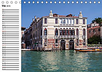 VENEDIG Eine Tour auf dem Canal Grande (Tischkalender 2019 DIN A5 quer) - Produktdetailbild 5