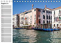 VENEDIG Eine Tour auf dem Canal Grande (Tischkalender 2019 DIN A5 quer) - Produktdetailbild 8