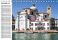 VENEDIG Eine Tour auf dem Canal Grande (Tischkalender 2019 DIN A5 quer) - Produktdetailbild 11