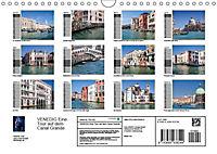 VENEDIG Eine Tour auf dem Canal Grande (Wandkalender 2019 DIN A4 quer) - Produktdetailbild 13