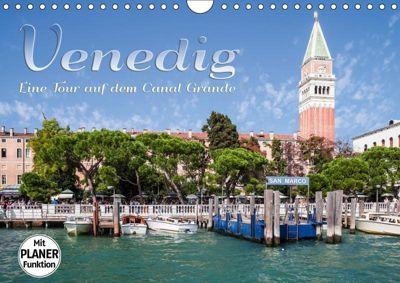 VENEDIG Eine Tour auf dem Canal Grande (Wandkalender 2019 DIN A4 quer), Melanie Viola