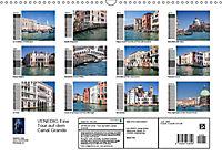 VENEDIG Eine Tour auf dem Canal Grande (Wandkalender 2019 DIN A3 quer) - Produktdetailbild 13