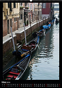 """Venedig - La Romantica"" (Wandkalender 2019 DIN A2 hoch) - Produktdetailbild 3"