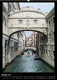 """Venedig - La Romantica"" (Wandkalender 2019 DIN A2 hoch) - Produktdetailbild 1"