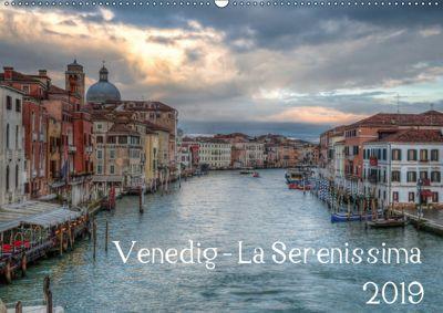 Venedig - La Serenissima 2019 (Wandkalender 2019 DIN A2 quer), Sascha Haas